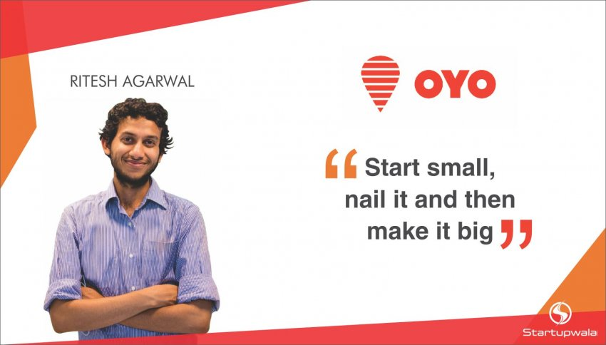 Ritesh Agarwal and CEO of OYO Rooms