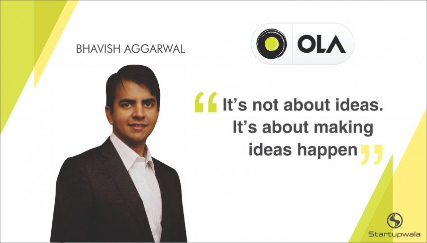 Bhavish Aggarwal , CEO of Ola Cabs