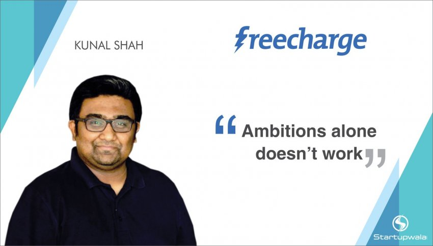 Kunal Shah, Founder of Freecharge