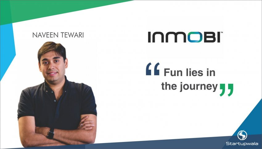 Naveen Tewari, CEO of InMobi