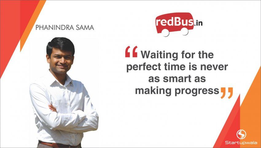 Phanindra Sama, Founder of Redbus