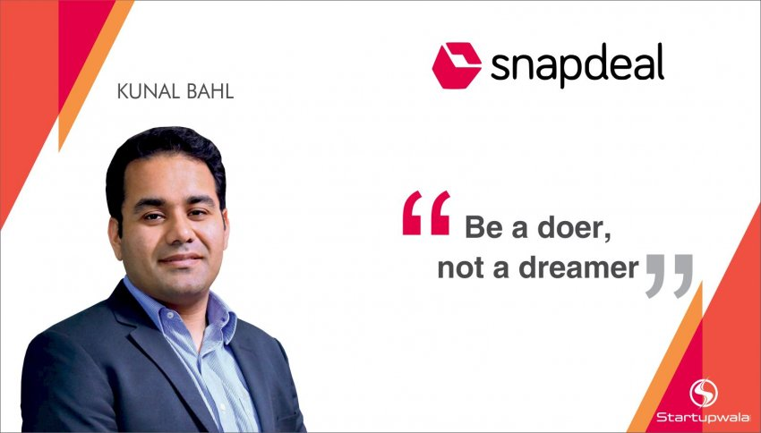 Kunal Bahl, Founder of Snapdeal