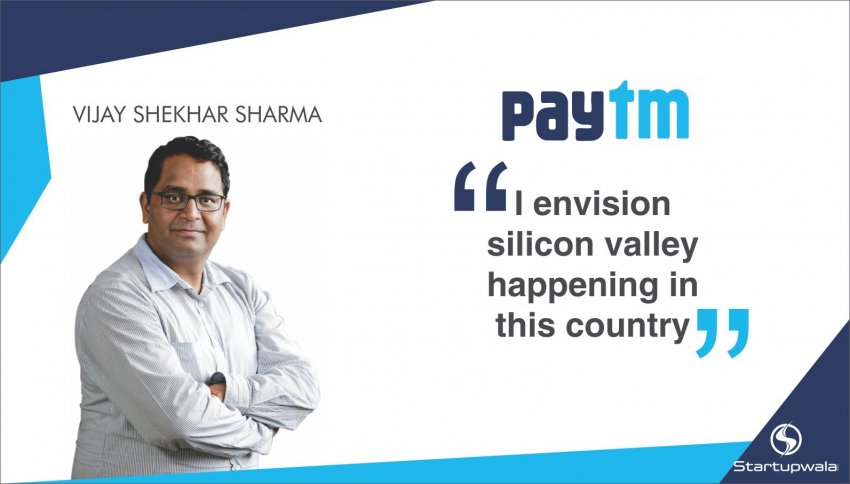 Vijay Shekar Sharma, Founder of Paytm