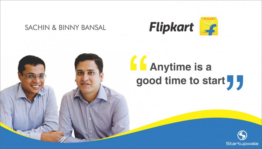 Sachin Bansal & Binny Bansal, Co-Founders of Flipkart