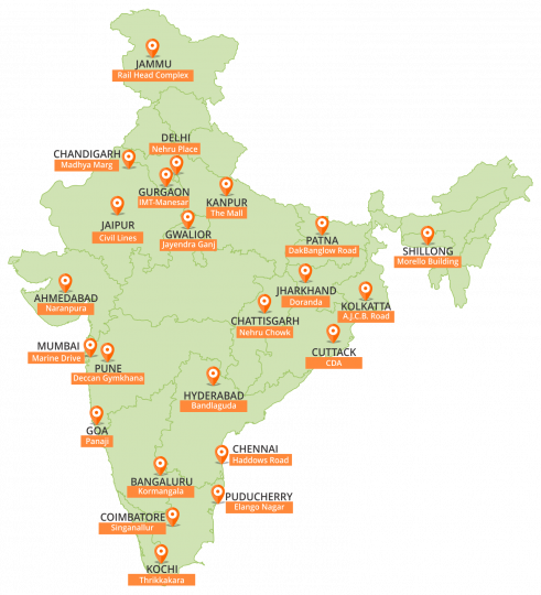 ROC-office-India-contact-address-map