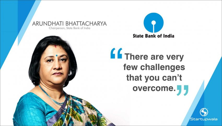 Arundhati Bhattacharya,Chairperson of State Bank of India