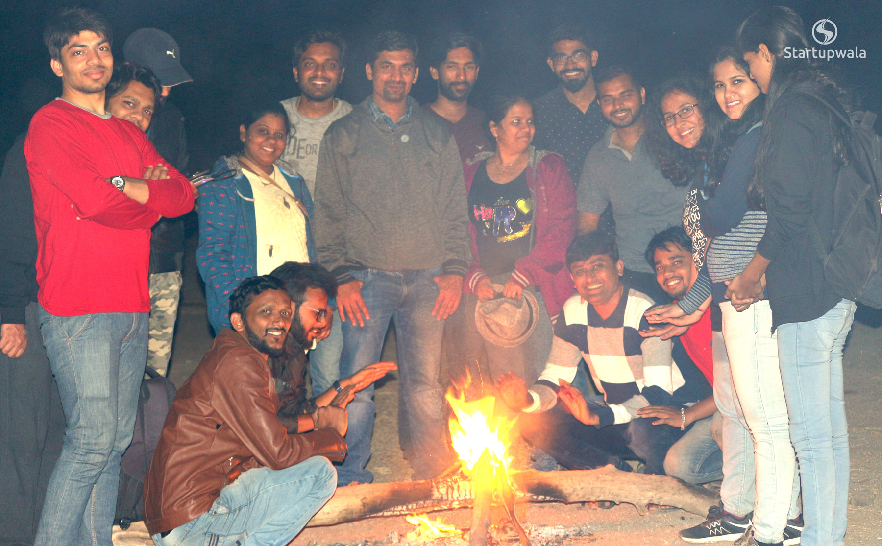 Camp fire - startupwala team