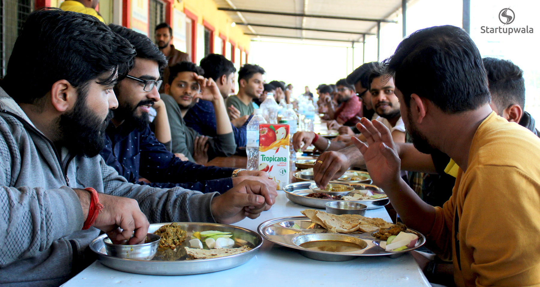 lunch - startupwala team